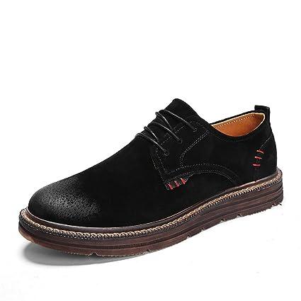 aa8d4023048d Amazon.com  DADIJIER Men s Fashion Oxford Casual Classic Simple ...