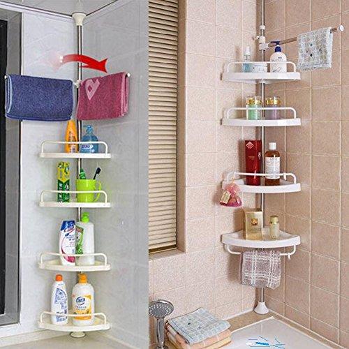 Thaisan7 , Bathroom Bathtub Shower Caddy Holder, Corner Rack Shelf Organizer Accessory from thaisan7
