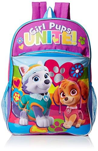 Nickelodeon Patrol Rainbow Backpack Purple