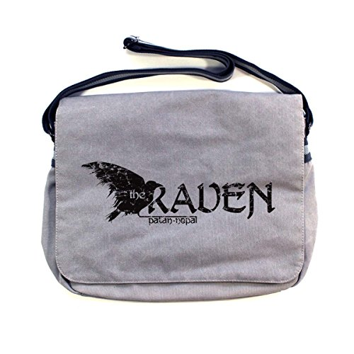 Gray Shoulder Arcane Bag Light Man Cotton Store Vintage z0qqT