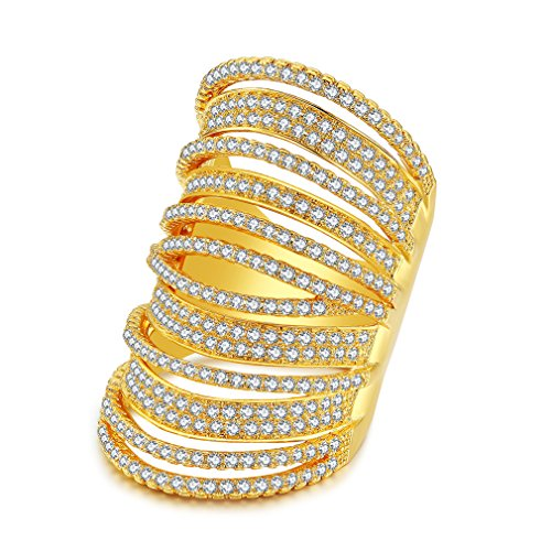 Crystal Yellow Ring - 9