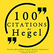 100 citations de Hegel | G. W. F. Hegel