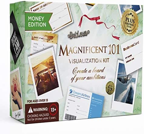 Magnificent Vision Board Kit Visualization product image