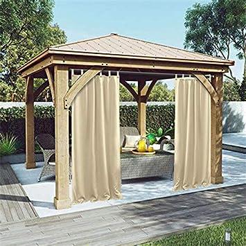 amazon プライバシーアウトドア単一ウィンドウカーテンパネルfor porch