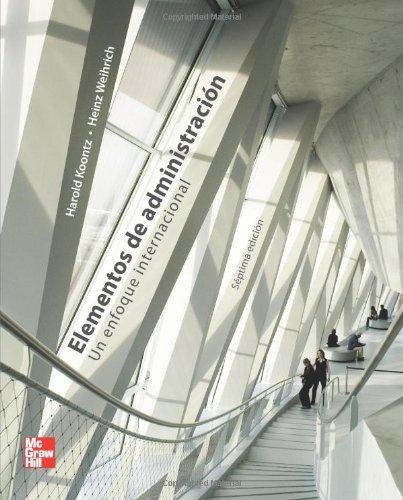 Elementos de administracion (Spanish Edition) [Harold Koontz] (Tapa Blanda)