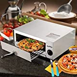 Electric Pizza Oven Stainless Steel Pizza Baker...