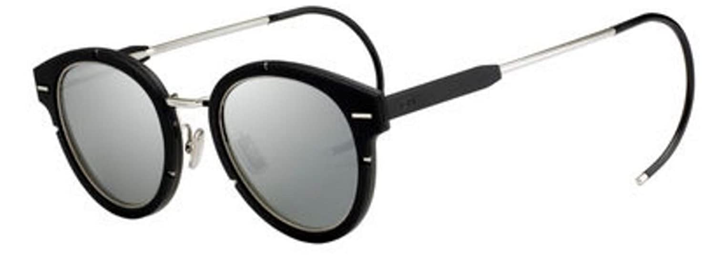 6f3758af583 New Christian Dior Magnitude 01 S7W/SF Palladium Black/Black Sunglasses:  Amazon.co.uk: Clothing