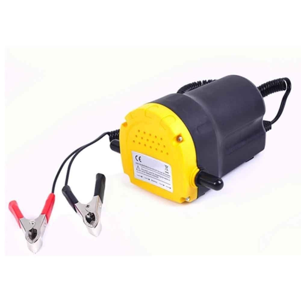 Teekland 12V 5A Fluid Oil Transfer Pump Diesel Extractor Scavenge Suction Home Use Mini Type Electric Oil Liquid Transfer Pump by Teekland (Image #2)