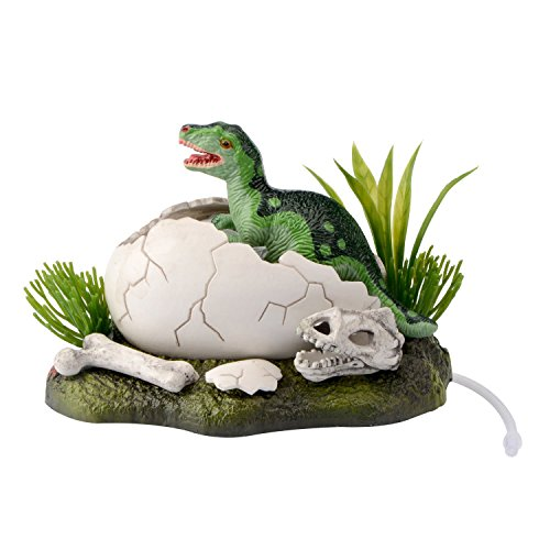 Saim New Born Baby Dinosaur Live Action Aquarium Ornament Fish Tank Decoration ()