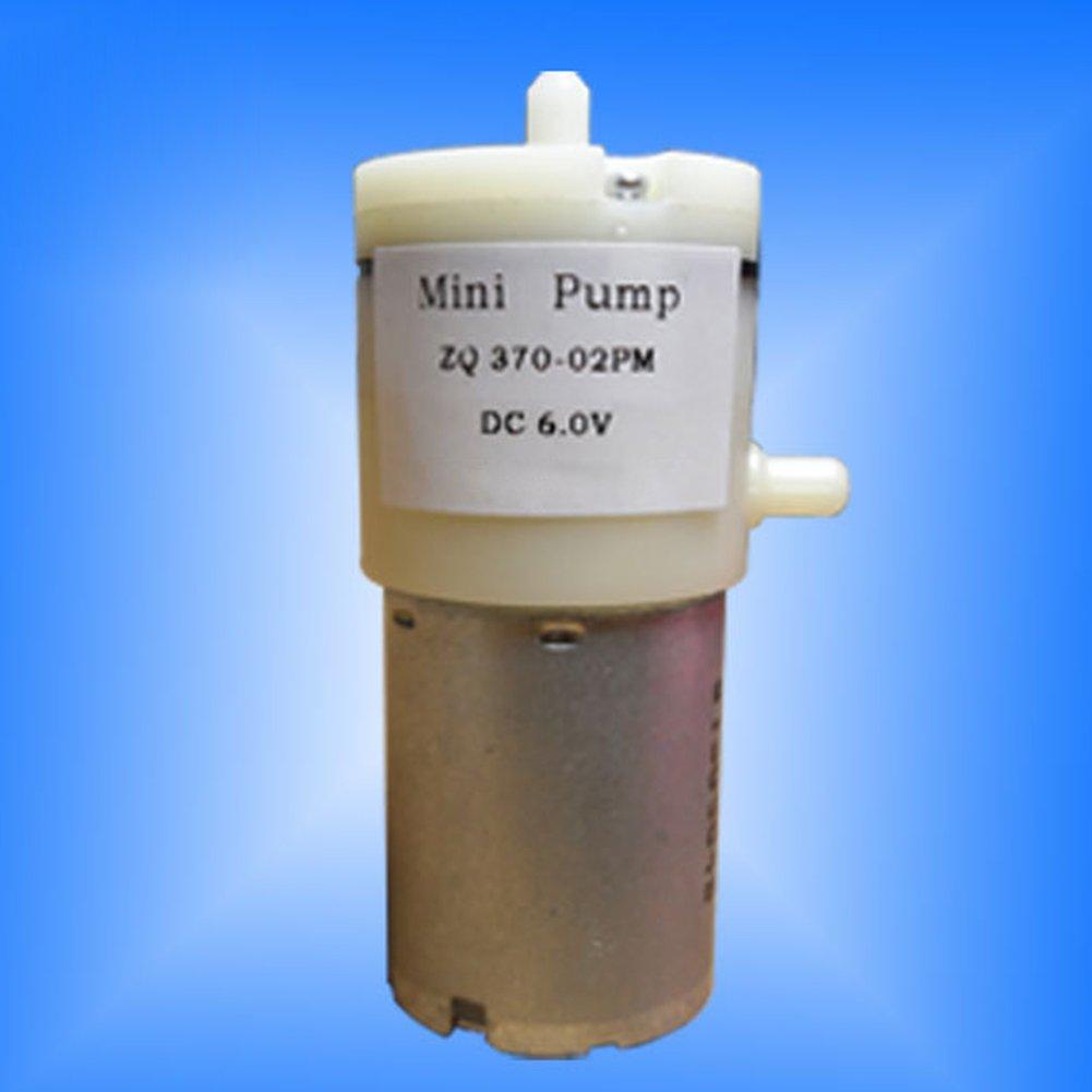 EMVANV DC 6 V Mini bomba de aire de acuario motor pecera tanque de agua fuente estanque agua jardines para oxígeno circular: Amazon.es: Productos para ...