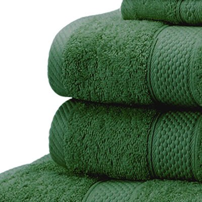 Fantastic Linens Limited 100% Turkish Cotton Hand Towel, Forest Green  SH43