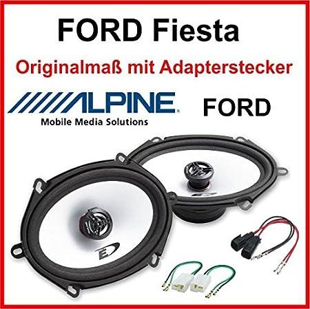 Alpine 5x7 Speziell Für Ford Fiesta Vordere Türen Elektronik
