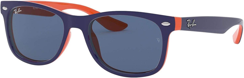 RAY BAN JUNIOR 9052S Lunettes de soleil mixte, top blue