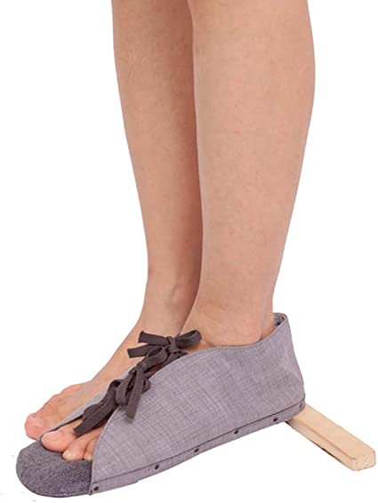 Amazon Com Moxin Drop Foot Brace Foot Stabilizer And Orthosis Thong Board Shoes Relieve Pain Of Achilles Tendonitis Fracture Boot Sprained Ankles For Foot Sports Outdoors