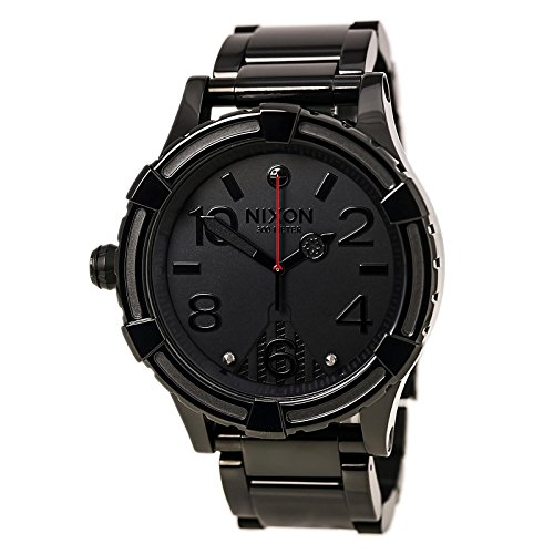 Nixon Men's '51-30 SW, Vader' Quartz Stainless Steel Casual Watch, Color:Black (Model: A172SW-2244-00) -