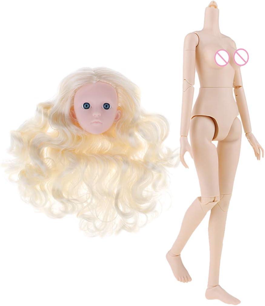 Amazon.es: F Fityle Cuerpo Desnudo de Muñecas Articuladas Escala 1 ...