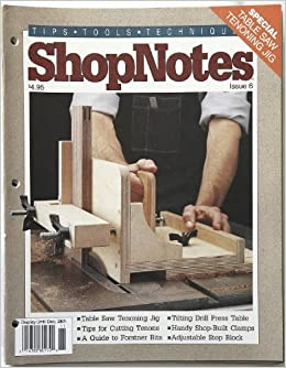 shopnotes issue 6 november 1992 donald b peschke amazon com books