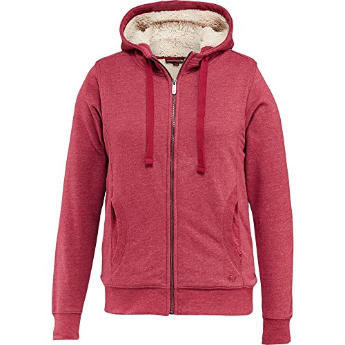 Wolverine Women's Willow Sherpa Lined Hoody, Cardinal Heather, X-Large