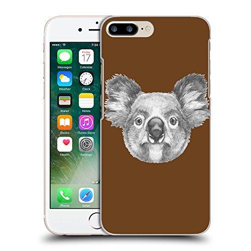 GoGoMobile Coque de Protection TPU Silicone Case pour // Q05150633 Dessin koala Sépia // Apple iPhone 7 PLUS