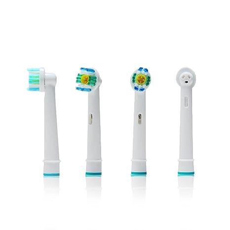 oral-q (EB18 – 4 – Juego de cabezales para cepillo de dientes eléctrico