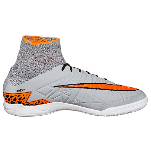 Proximo black Scarpe da Nike Hypervenomx IC Grey Total Uomo Orange Calcio Wolf 51q1TPnw