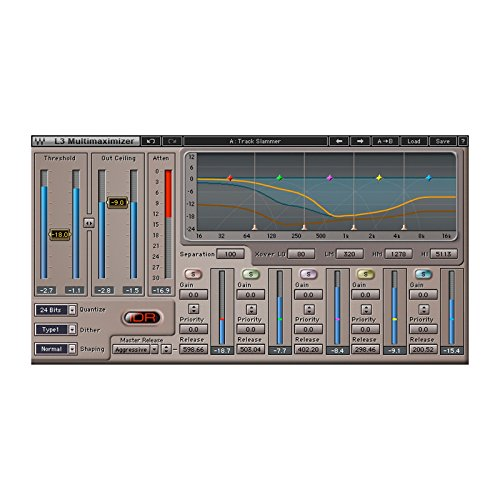 - Waves L3 Multimaximizer | Peak Limiter Level Maximizer Plugin Software Physical Copy