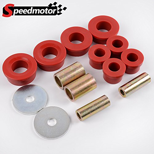 Red Front Control Arm Bushing Kit For 1998-2005 Subaru Impreza For 1999-2003 Subaru Legacy For 2002-2007 Subaru WRX