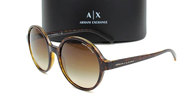 Amazon.com: Armani Exchange ax4059s anteojos de sol tortuga ...