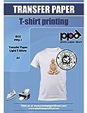 PPD Inkjet Iron-On Light Transfer Paper A4 x 10 Sheets (PPD-1-10)