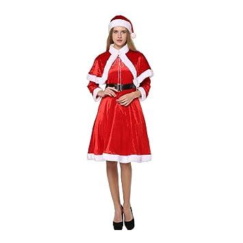 Amazon.es: YMMONLIA Traje de Papá Noel,Navidad Damas Falda Corta ...