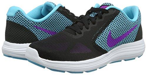 Bl black Nike Zapatillas De white Para Running Hypr Revolution Mujer Violet Negro gmm Wmns 3 wwCOz