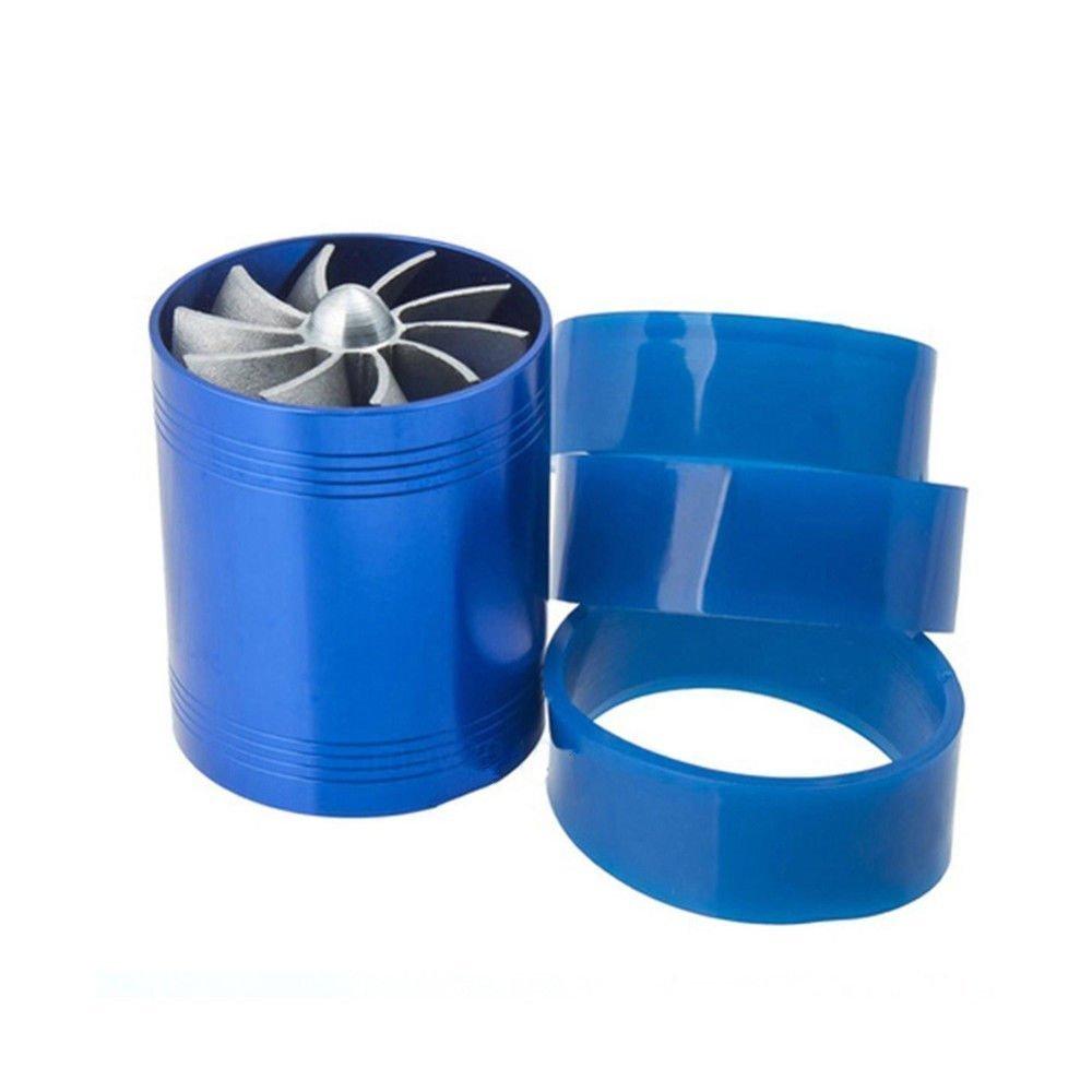 URXTRAL Turbine Turbo Fan Filtre à air d'admission Gas Fuel Saver Unique Supercharger