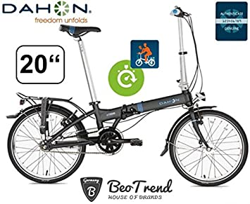 Dahon Vitesse D7HG shadow ND Versión Deluxe - Bicicleta plegable (7 marchas, 50,