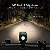 Super Bright Bike Light USB Rechargeable, Te-Rich