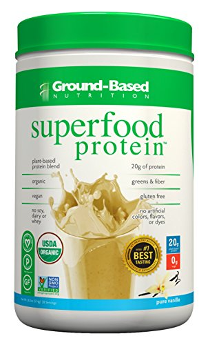 Ground Based Nutrition Superfood Protein Plant Based product image