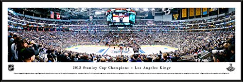 2012 Stanley Cup Champions - Los Angeles Kings - Blakeway Panoramas NHL Posters with Standard ()
