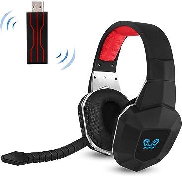 2.4GHz Auriculares Gaming Inalámbricos de Diadema para Xbox