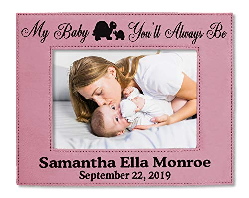 - My Baby You'll Always Be Personalized Picture Frame Mommy and Me Girl Boy Son Daughter New Mom Mommy Dad Daddy