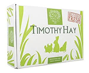 Small Pet Select 2nd Cutting Timothy Hay Pet Food, 10-Pound