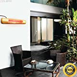 COLIBROX--outdoor Garden Electric Patio restaurant 1500watt Heater Wall Mount Infrared new. infrared wall mounted heater indoor/outdoor commercial/residential. outdoor heater. best patio heaters.