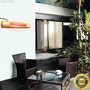 COLIBROX--outdoor Garden Electric Patio restaurant 1500watt Heater Wall Mount Infrared new. infrared wall mounted heater indoor/outdoor commercial/residential. outdoor heater. best patio heaters.