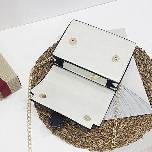 Marrone dimensioni Casa Bianco Liu Dell'unità colore Creative Yu Sacchetto Di Cuoio 7 · Elaborazione Modo 15cm Donne Crossbody Le 19 EEHUO4rq