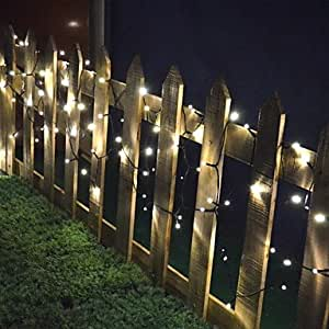Reaiers 200 Solar Powered Outdoor String Lights -Fairy Lights-Christmas String Light For Decoration