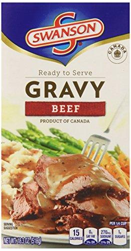 Swanson Gravy Beef 18 3 Ounce