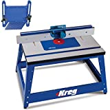 Kreg PRS2100 Bench Top Router Table with Kreg PRS3010 Feather Board Kit #13
