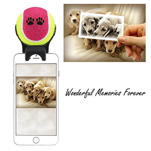 Price comparison product image Smartphone Attachment Selfie Stick for Pet (Purple)