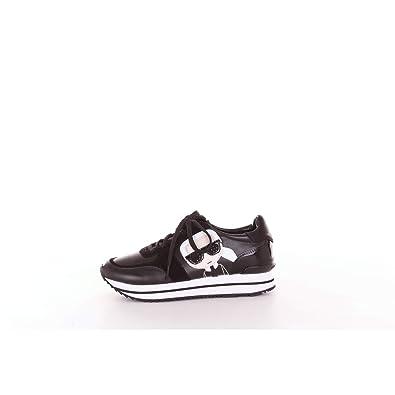3a2e794658bd Karl Lagerfeld Velocita Ii Karl Ikonic Meteor Trainers Black 6 UK   Amazon.co.uk  Shoes   Bags