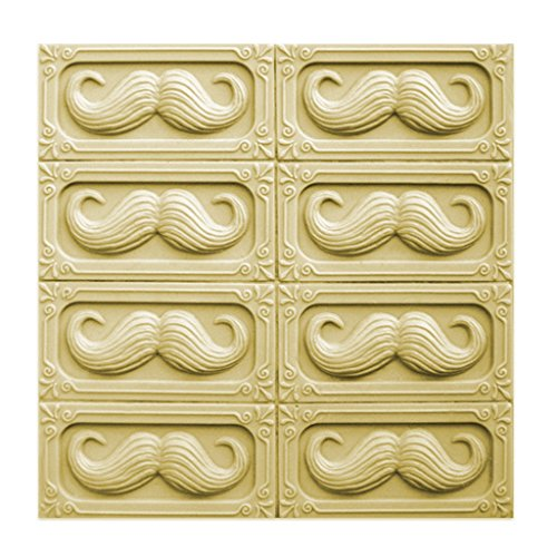 Mustache Milky Way Soap Mold - Melt and Pour - Cold Process - Clear PVC - Not Silicone - MW 194