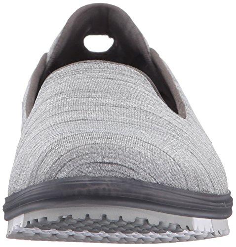 Skechers Go Flex Mini Femmes Chaussure de US Gris Marche 7 RRvraOwq