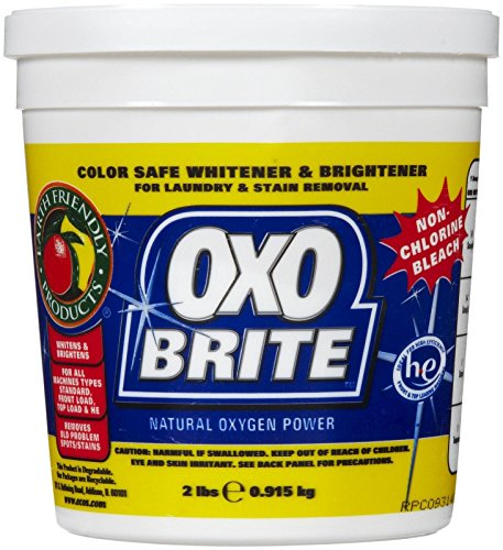 Earth Friendly Products OXO Brite Non-Chlorine Bleach, 2 Pound